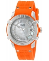 Women's Spirit Swiss Quartz Stainless Steel And Silicone Automatic Watch Color Orange