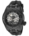 Men's Genesis Prime Stainless Steel And Silicone Automatic Watch Color Black