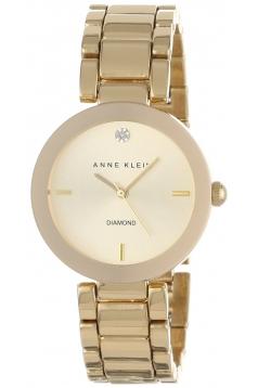 Women's Diamond Dial Gold Tone Bracelet Watch