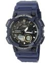 Men's Heavy Duty Quartz Resin Automatic Watch Color Blue