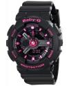 Women's Baby G Analog Digital Display Quartz Black Watch