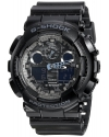 Men's G Shock Analog Digital Dial Black Resin Watch