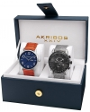 Men's Quartz Movement Analog Display Watch Gift Set
