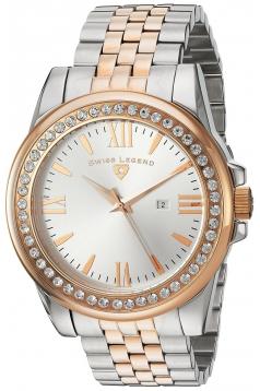 Women's Allure Quartz Stainless Steel Automatic Watch Color Two Tone · Swiss Legend