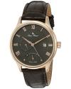 Men's Volos Analog Display Japanese Quartz Brown Watch