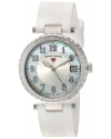 Women's Sea Breeze Quartz Stainless Steel And Silicone Automatic Watch Color White