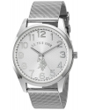 Men's Quartz Metal And Alloy Automatic Watch Color Silver Toned