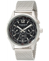 Men's Explorer Stainless Steel Swiss Multifunction Watch With Bracelet