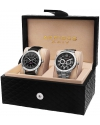 Men's Silver Tone Watch Set