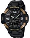Men's G-Shock Gravitymaster Black/Gold Watch
