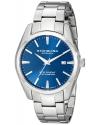 Men's Ascot Prime Analog Swiss Quartz Silver Stainless Steel Bracelet Watch