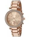 Women's Quartz Rose Gold Toned Dress Watch