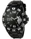 Men's Sport Analog Display Analog Quartz Black Watch