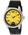 Men's Quartz Stainless Steel And Polyurethane Automatic Watch Color Black (Model: PU104041001)