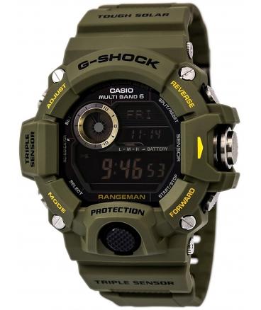 Men's G-Shock Rangeman Master Of G Series Stylish Watch Green One Size