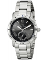 Women's Misty Rose Analog Display Japanese Quartz Silver Watch