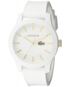 Men's Analog Display Quartz White Watch