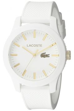Men's Analog Display Quartz White Watch