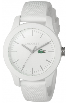 Women's Ladies Quartz Resin And Silicone Automatic Watch Color White