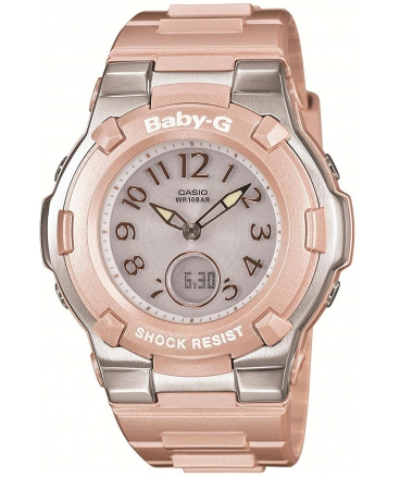 Women's Baby-G Shock Resist Lady's Solar Charged Watch Multibrend Tripper Japan Import