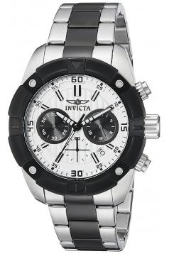 Men's Specialty Analog Display Japanese Quartz Two Tone Watch