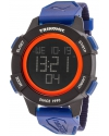 Men's Trinomic Blue Digital Display Watch