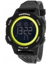Men's Trinomic Black Digital Display Watch