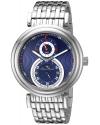 Men's Polaris Analog Display Quartz Silver Watch