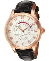 Men's The Capital Quartz Stainless Steel and Leather Casual Watch