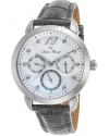 Women's Rivage Quartz Stainless Steel and Leather Casual Watch