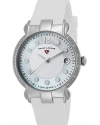 Women's Layla Quartz Stainless Steel and Silicone Casual Watch, White