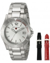 Women's Paradiso Analog Display Swiss Quartz Silver Watch