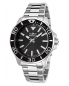 Men's Pro Diver Quartz Stainless Steel Watch, Silver-Toned
