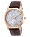 Women's Noureddine Quartz Stainless Steel and Brown Leather Casual Watch