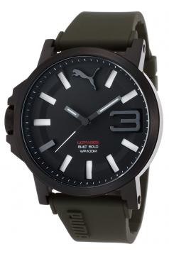 Men's Ultrasize 50 Analog Display Quartz Green Watch