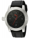 Quartz Stainless Steel and Polyurethane Automatic Watch