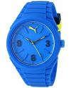 Unisex Gummy Analog Display Analog Quartz Blue Watch