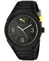 Unisex Gummy Analog Display Analog Quartz Black Watch