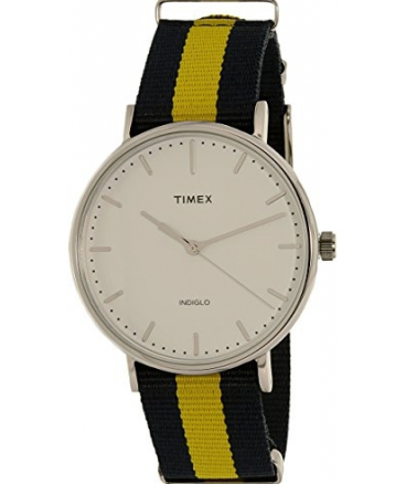 Weekender Fairfield Blue /Yellow Nylon Strap Watch