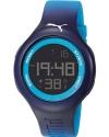 Loop L Blue Digital Sports Silicone Watch