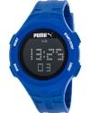 Loop Chronograph Digital Blue Silicone Watch