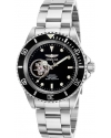 Men's Pro Diver Stainless Steel Automatic Watch, Silver-Toned