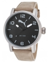 Time ALTERNATIVE ROUND Mens Wristwatch Solid Case