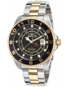 Men's Pro Diver Analog Display Swiss Quartz Two Tone Watch