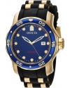 Men's Pro Diver Quartz Stainless Steel and Polyurethane Casual Watch