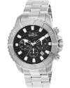 Men's Pro Diver Quartz Stainless Steel Casual Watch, Silver-Toned