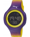 Loop L Gradient Purole Silicone Watch