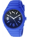 Unisex Gummy fading blue Analog Display Watch