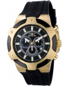 Signature Chronograph Gold-tone Mens Watch