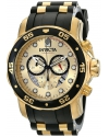 Men's Pro Diver 18k Gold Ion-Plated Stainless Steel Watch